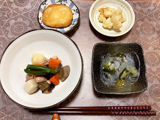 彩ダイニング「筑前煮弁当」の実食レビュー