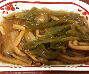 食卓便の青椒肉絲